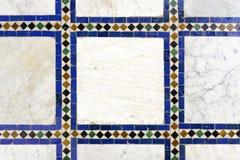 Morrocan traditionell mosaikbakgrund Arkivfoto