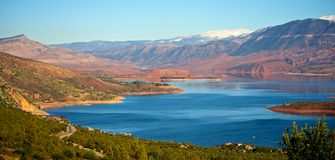 Morroco lake Stock Photos