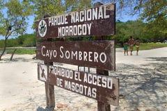 Morrocoy Nationaal Park venezuela Stock Fotografie