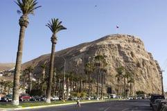 Morroen de Arica, Chile Royaltyfri Foto