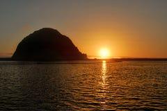 Morrow skała, California, usa zdjęcia royalty free