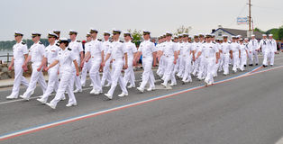 morscy oficery Zdjęcia Royalty Free