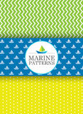 Morscy wzory Fotografia Stock