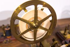 Винтажная машина телеграфа morse Стоковая Фотография