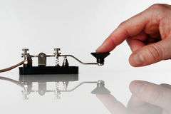 Morse code Stock Images