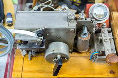 Morse elektrisk telegraf Royaltyfri Fotografi