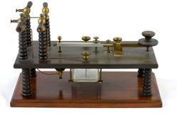 Morse kluczowy antyk Zdjęcie Royalty Free