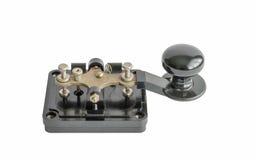 Morse-sleutel stock afbeeldingen