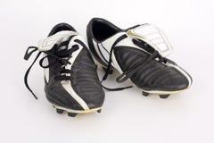 Morsetti di calcio fotografia stock libera da diritti