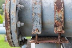 Morsetto d'acciaio sporco Fotografia Stock Libera da Diritti