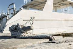 Morsetto del porto Fotografie Stock Libere da Diritti