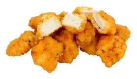 Morsi della pepita di pollo Immagine Stock