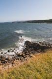 Morska linia brzegowa Zdjęcia Stock