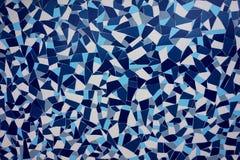 Morska ornamentacja, aglutynacja, mozaika, od płytki zdjęcia royalty free