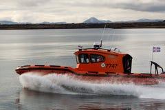 Morska rewizja i statek ratowniczy Zdjęcia Royalty Free