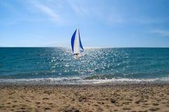 Morska sceneria na Czarnym morzu Obraz Stock