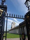 Morska Szkoła wyższa brama widok Zdjęcia Royalty Free