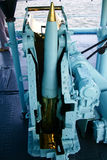 Morski artyleryjski ładowacz zdjęcie royalty free