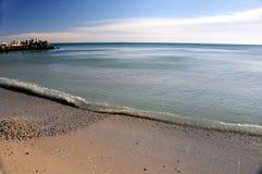 morski brzeg fotografia stock