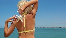 Morski gwoździa projekt na długich owalnych biel gwoździach Obraz Royalty Free