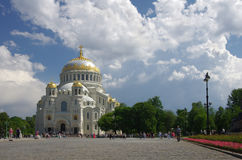 morski katedralny kronshtadt fotografia royalty free