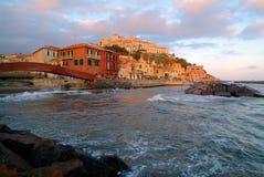 morski miasteczko Fotografia Stock