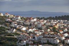 Morski miasto Zdjęcia Stock