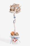 Morski motywu topiary Obrazy Royalty Free