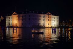 Morski muzealny Amsterdam fotografia royalty free