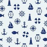 Morski nastrój ilustracja wektor