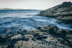 Morski prąd w morzu zdjęcie royalty free