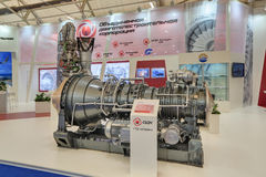 Morski statku turboshaft silnik Fotografia Royalty Free