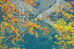 Morskie Oko в середине октября Стоковые Изображения RF