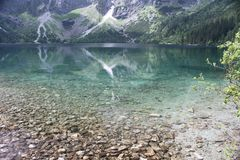 Morskie Oko Royalty Free Stock Photos