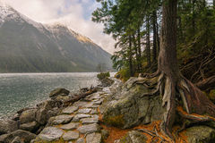 Morskie oko lake. Royalty Free Stock Image