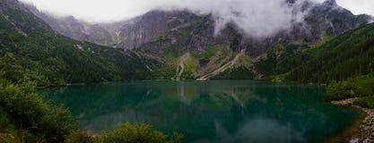 Morskie Oko Lake in Tatra Mountain, Zakopane, Poland royalty free stock images
