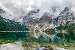 Morskie Oko - mountain lake, Sea Eye, Zakopane, Tatra Mountains, Poland royalty free stock photos