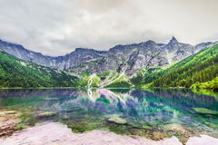 Morskie oko stock photo