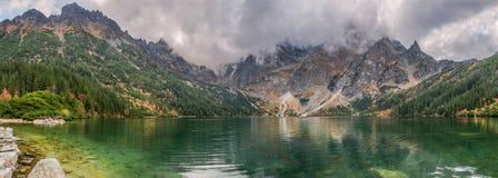 Morskie Oko mountain lake, Sea Eye, Zakopane, Tatra Mountains, Poland Stock Images