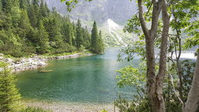 Morskie Oko. In Poland Royalty Free Stock Images