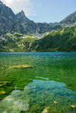 Morskie Oko in polnischen Tatra-Bergen Lizenzfreies Stockbild