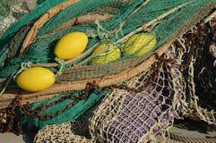 Morskie sieci Obraz Stock