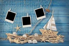 Morskiego życia dekoracja Fotografia Stock