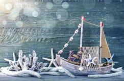 Morskiego życia dekoracja Fotografia Royalty Free