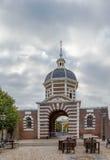 Morspoort Leiden, Nederländerna Arkivfoton