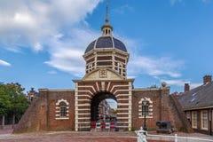 Morspoort, Leyde, Pays-Bas Images libres de droits