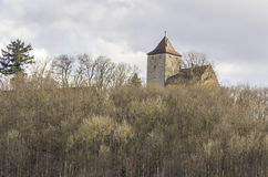 Morstein castle in Hohenlohe Royalty Free Stock Image