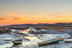 Morston Quay marsh Stock Images