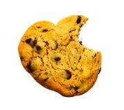Morsure absente de biscuit Images stock