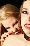 Morsure de vampire image libre de droits